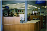 Forest Lawn Branch: Interior, desk