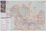 Calgary - Calgary Transit Route Map - Spring & Summer
