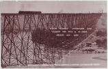 C P RY Viaduct, Lethbridge, Alta. Length one mile and 47 feet. Height 307 feet.