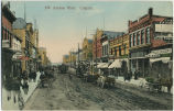 8th Avenue West, Calgary (Dirt Street and Horses and Buggies)