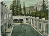 Hot Sulphur Bath, C.P.R. Hotel, Banff, Canadian Rockies