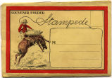 "Souvenir Photo Stampede (Calgary) 8 fold out pictures Side A: 1. ""At the Stampede""..."