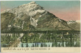 Banff from Sanitarium(sic) (Altitude 4521 ft written on front)
