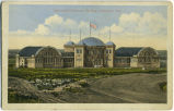 Agricultural Exhibition Building.  Lethbridge, Alta.