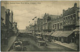Eighth Avenue from Post Office, Calgary, Alberta