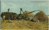 Threshing Scene, Western Canada