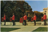 Regina, Saskatchewan.  Fountain Dedicated to the North-West Mounted Police in Wascana Centre