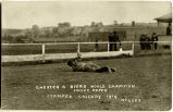 Chester A. Byers World Champion Fancy Roper Stampede Calgary 1919