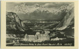Banff Springs Hotel and Bow Valley, Alberta