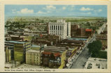 Aerial View showing Post Office, Calgary, Alberta - 20